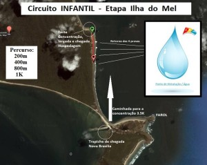 II Circuito Infantil Corrida Etapa Ilha do Mel